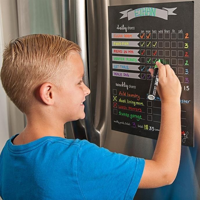 Magnetic Chore Charts
