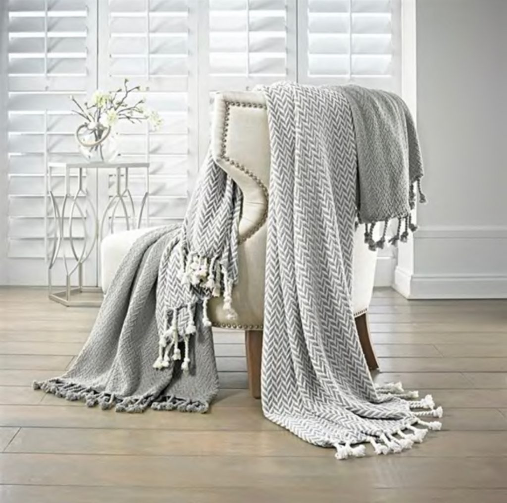 2 Pack Monacco Throws | 100% Cotton