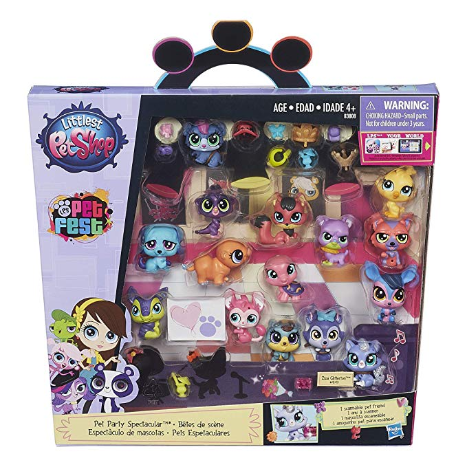 Littlest Pet Shop Pet Party Spectacular Collector Pack Toy