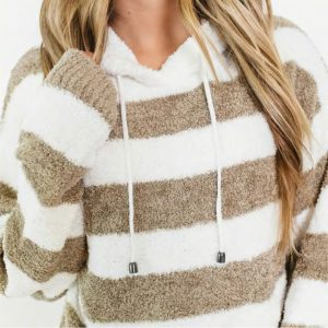 Softest Ever Striped Hoodie