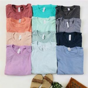 Soft Jersey Tees