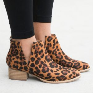 Side V-Cut Booties 3+ Colors