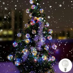 Decorative Christmas G40 LED String Lights