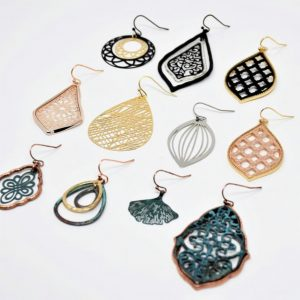 Holiday Filigree Earrings