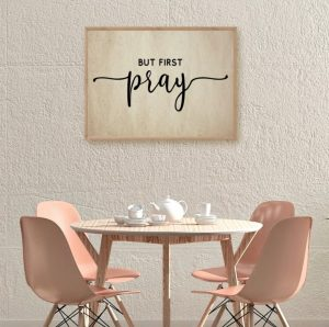 Farmhouse Christian Sign Prints