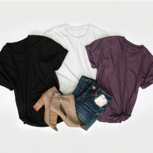 Layering Vintage Short Sleeve Tee