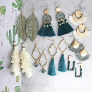 Palm Springs Earring Collection
