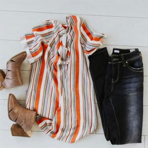 Nadette Striped Tops