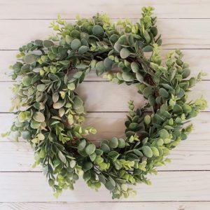 Faux Eucalyptus Wreaths