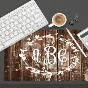 Personalized Desk Mat