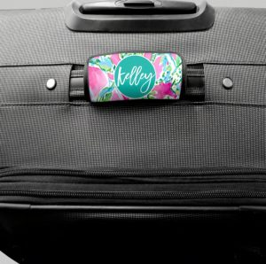 Personalized Bag Handle Wrap