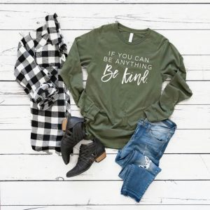 Kindness Long Sleeve Graphic Tees