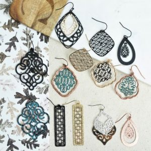 Fun and Trendy Filigree Earrings