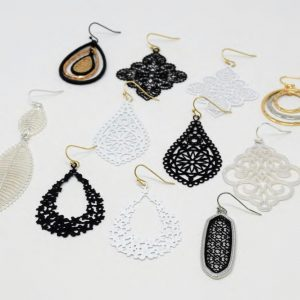 Filigree Dangling Earring