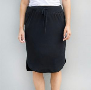 Solid Color Weekend Skirt