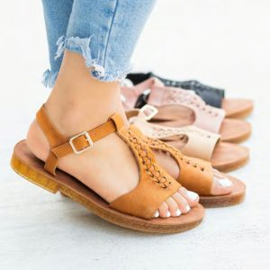 Comfy Woven Braided Sandals