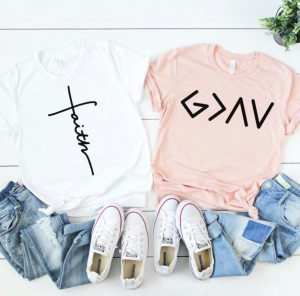 Jesus + Grace Tees