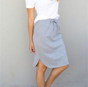 Relaxed Weekend Skirt