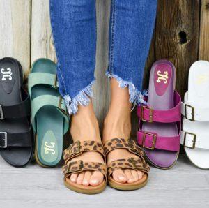 Trendy Buckle Sandals
