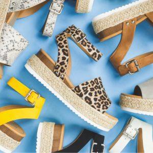 Trendy Espadrille Sandal Flats