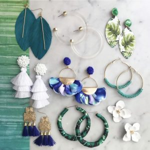 Tropical Earring Collection