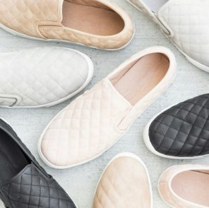 Comfy Insole Quilted Sneakers