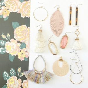 Soft Spring Earring Collection