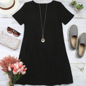 Short Sleeved Pocket Tunic