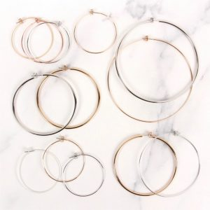 Light Hoop Earrings