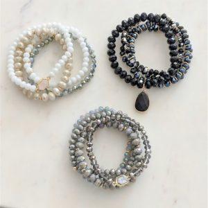 Stone Bracelet Set