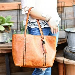 Julie Studded Tote Sale