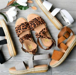 Darling Crossover Espadrille Sandals
