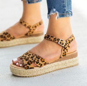 Criss Cross Espadrille Sandals