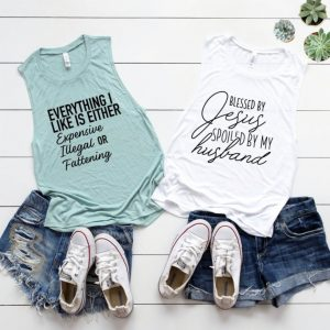 Funny Statement Tanks