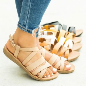 Comfy Strappy Open Toe Sandals